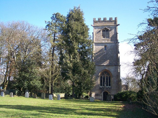 Elkstone village church in the Cotswolds