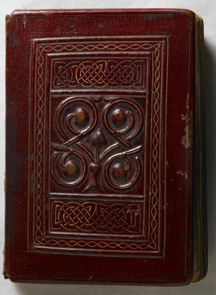 Photo of 'St Cuthbert's Gospel'