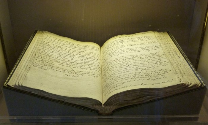 Manuscript of the Natural History of Selborne