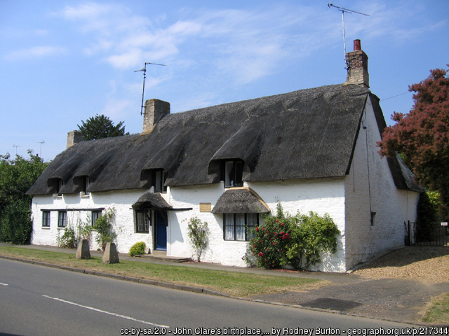 John Clare's cottage