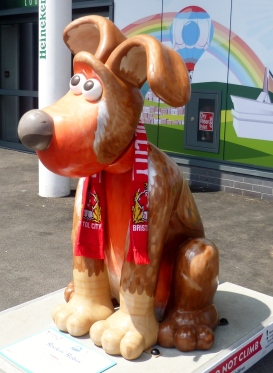Rock'in Robin - a Bristol City FC supporter