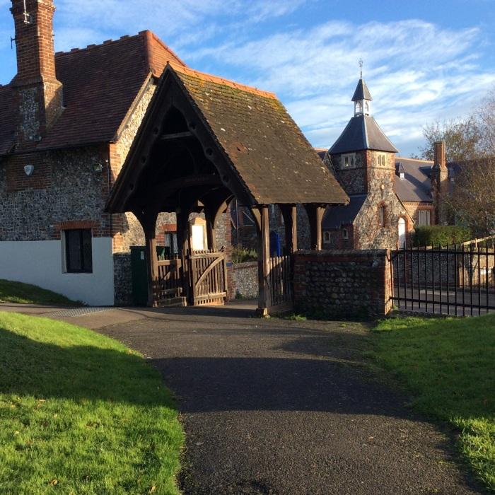 Village church lych gate
