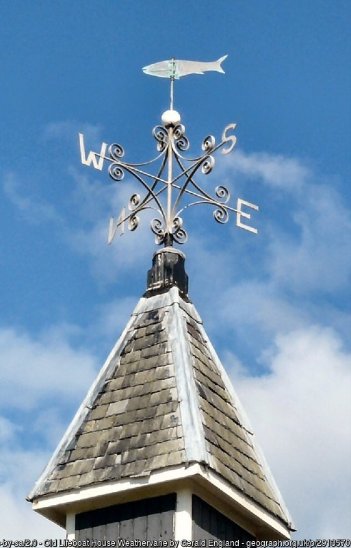 Weather vane- peace after the storm