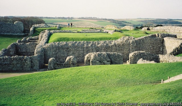 Old Sarum ruins