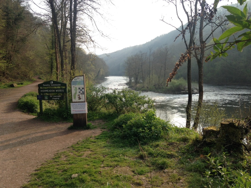 Wordsworth's beautiful Wye valley in early Spring