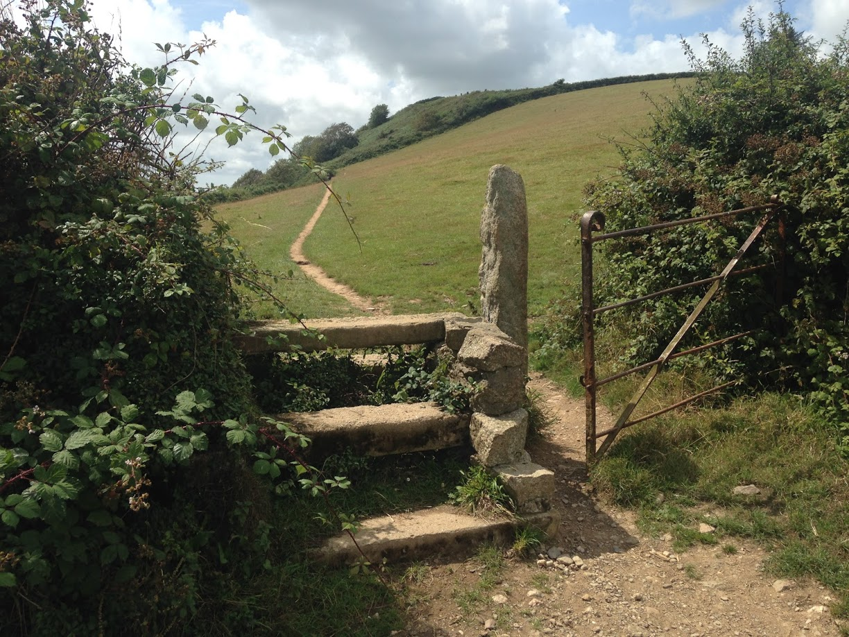 Style and path up a hill