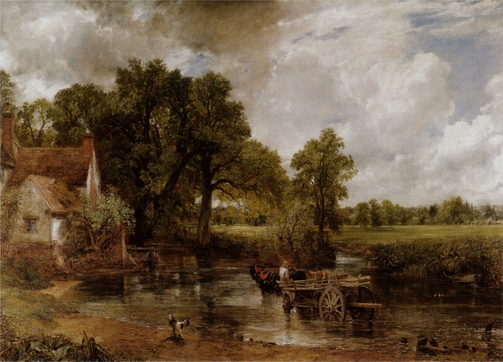 John Constable's 'Hay Wain' painting