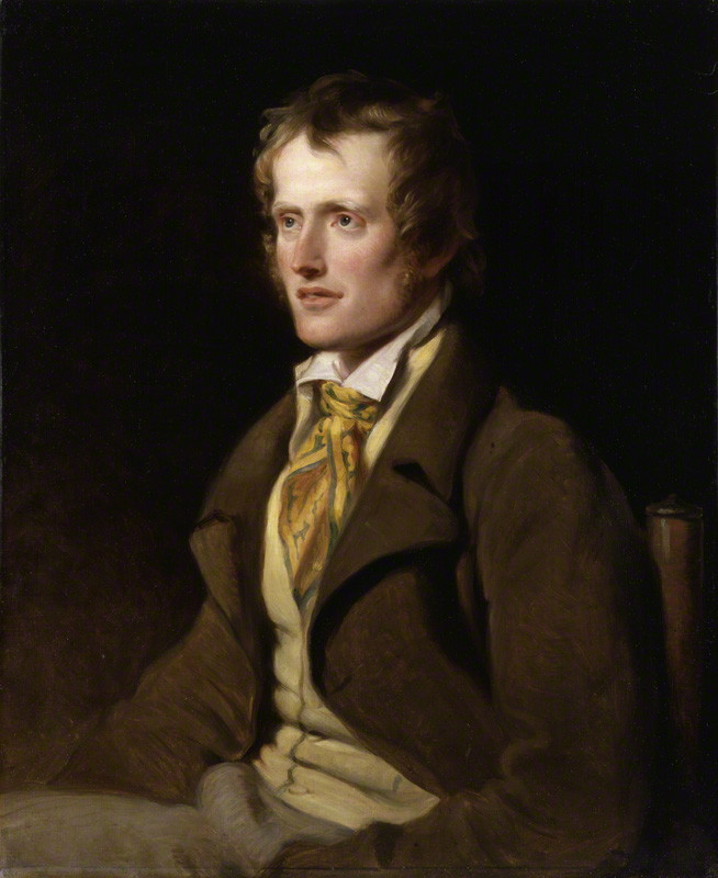 Oil painting of John Clare