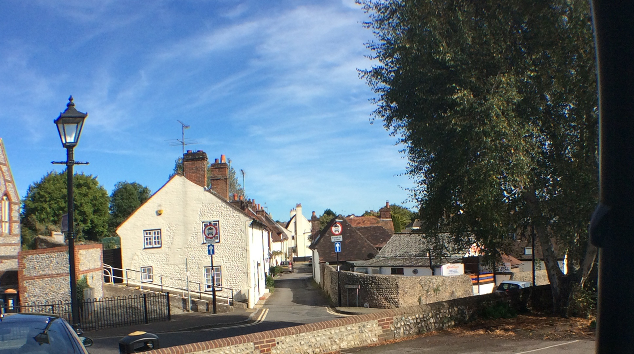 West Sussex village street