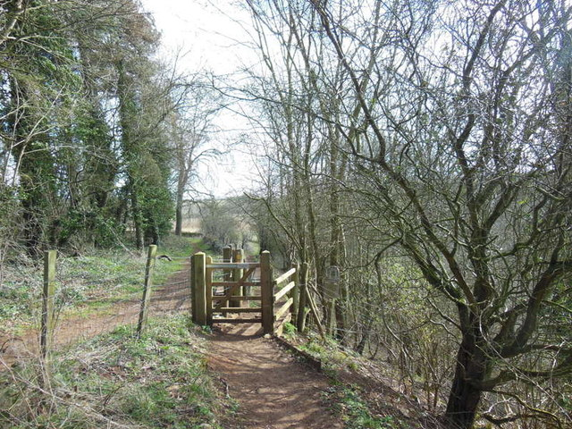 Walker's gate on the Cotswold Way