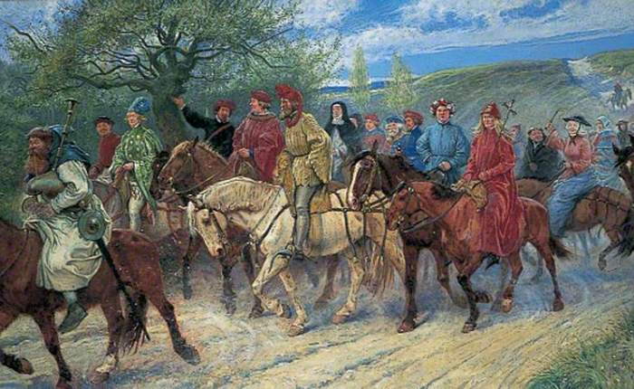 The Pilgrims' Way toCanterbury