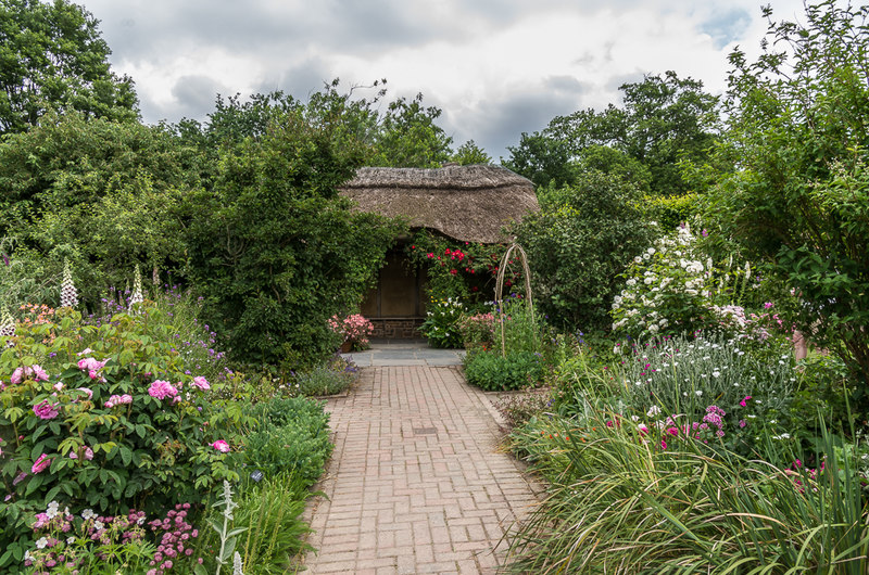 Cottage garden at Rosemore