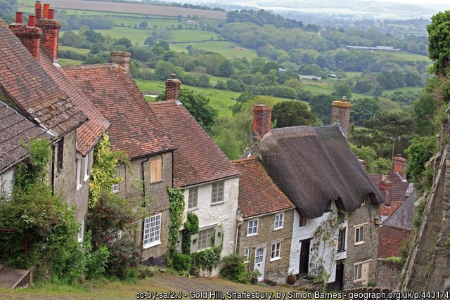 Hardy country at Shaftesbury's 'Gold Hill'