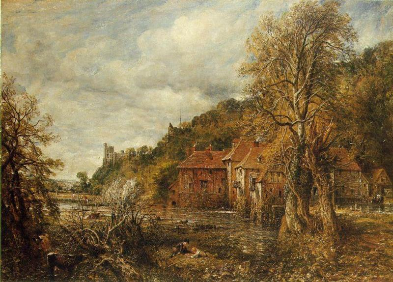 John Constable painting of Arundel Mill
