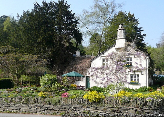 The Wordsworth's home at Rydal Mount