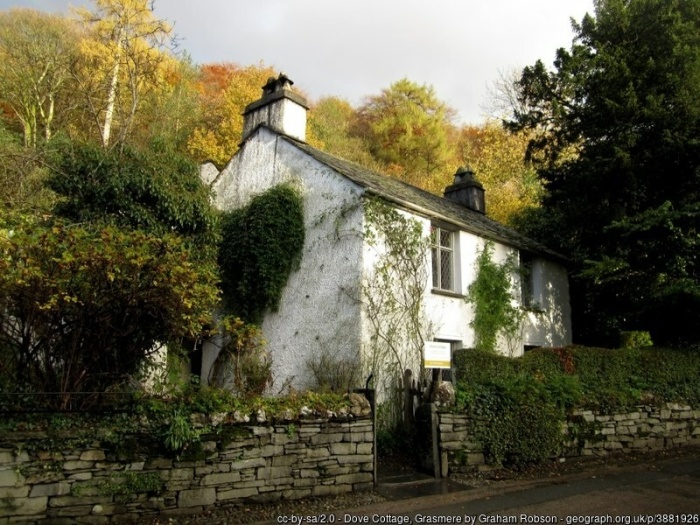 Wordsworth's Dove Cottage, Grasmere